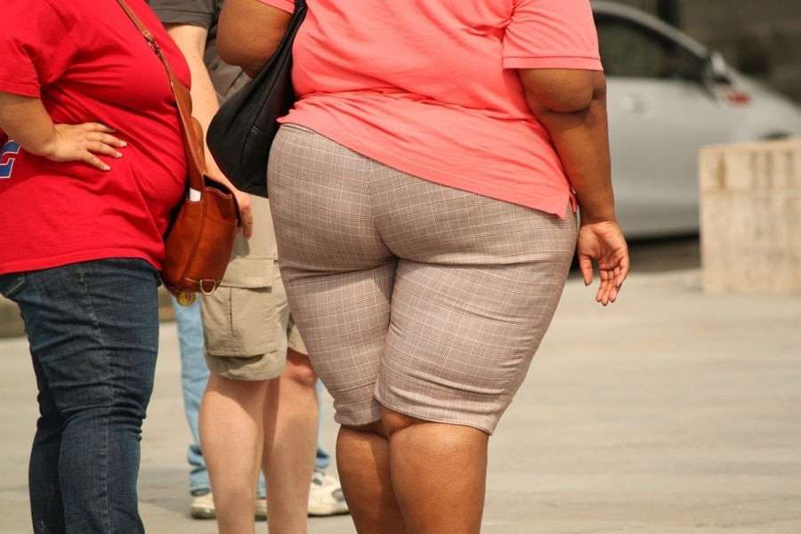 is obesity the new smoking? Image by cocoparisienne from Pixabay