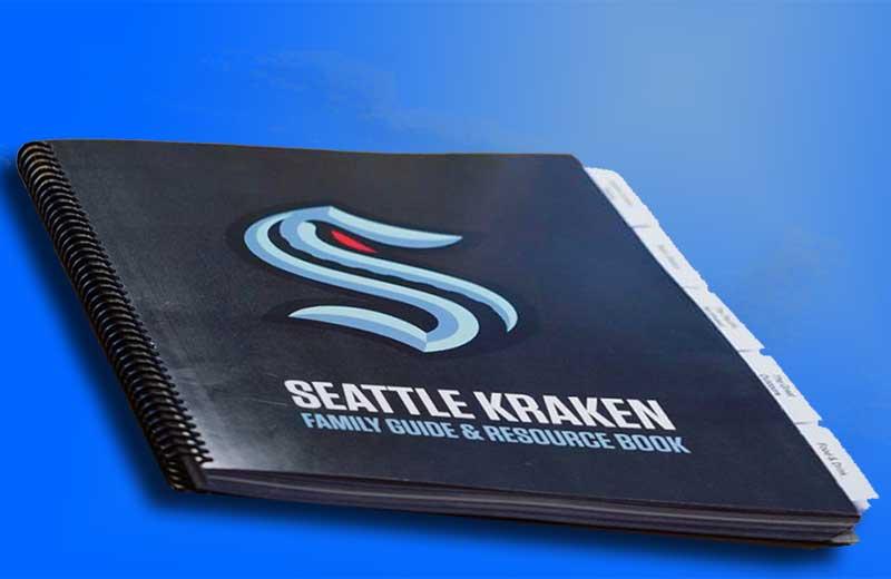 seattle kraken guidebook
