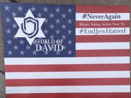 Shield of David Banner - Photo credit Nurit Greenger