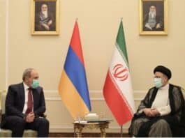 Iran-Armenia alliance, Pashinyan Raisi,
