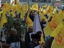 rally for 1988 massacre iran, NCRI image