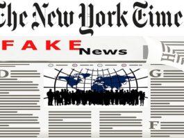 New York Times fake news